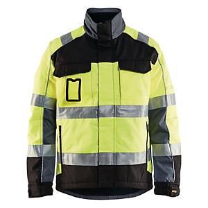 Blåkläder HiVis Lk2. talvityötakki keltainen/musta S