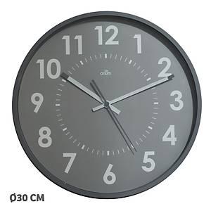 Vægur CEP Silent, 30 cm, grå