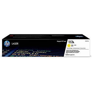 HP laserový toner 117A (W2072A), žltý