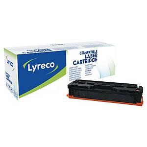 Lasertoner Lyreco, kompatibel med HP CF533A, 900 sidor, magenta