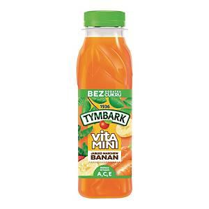 Sok TYMBARK Vitamini banan, marchewka, jabłko, 12 butelek x 300 ml