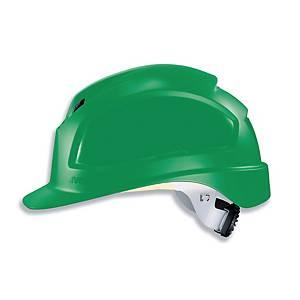 Schutzhelm Uvex 9772, Pheos B-WR, aus Kunststoff, Einstellbereich 52-61 cm, grün