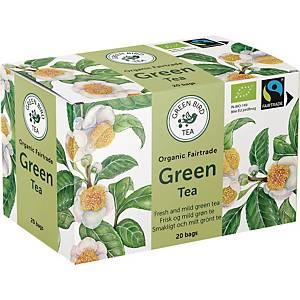 Te Green Bird Tea Grøn te, pakke a 20 breve