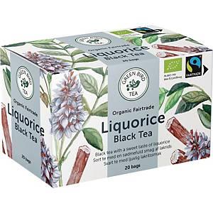 Te Green Bird Tea Lakrids, pakke a 20 breve