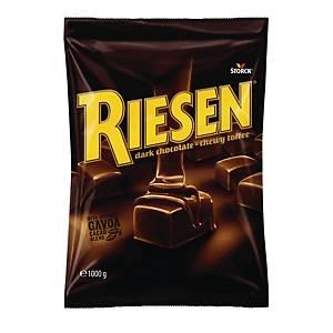 Chokolade Riesen mørk, 1000 g
