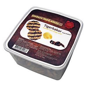 Tigerkager, smørbagte, 700 g