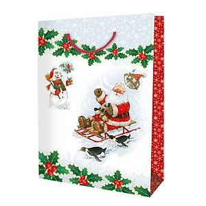 Shopper Babbo Natale Extra Large - conf. 6