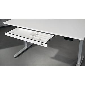 Rangement pour bureau - 1 tiroir - blanc