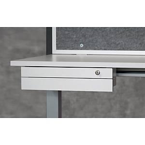 Rangement pour bureau - 2 tiroirs - blanc