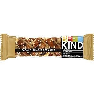 Be-Kind Caramel, amandes et sel marin - paquet de 12
