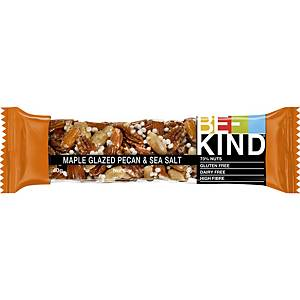 Be-Kind candy bar Maple glaze, pecan nuts and sea salt - pack of 12