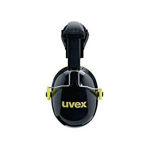 Helmkapselgehörschutz uvex K2H, 30dB, schwarz/gelb