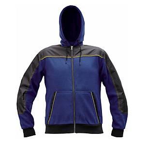 Mikina Cerva Cremorne, veľkosť XL, modrá
