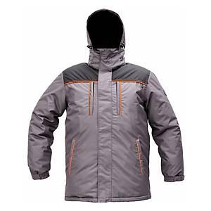 Zateplená bunda Cerva Cremorne, veľkosť 2XL, sivá