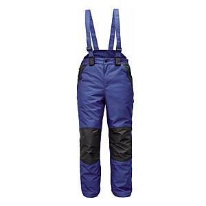 Zateplené kalhoty s náprsenkou CERVA CREMORNE, velikost XL, modré