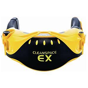 Cleanspace EX-suojattu hengityksen rytmiin mukautuva puhallinsuojain