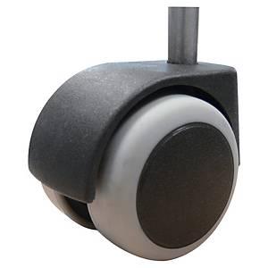 Roulette pour fauteuils de bureau Sokoa- sols durs - Lot de 5