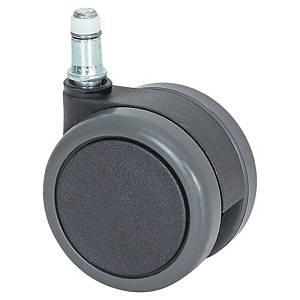 Roulette pour fauteuil de bureau - sols durs - Lot de 5