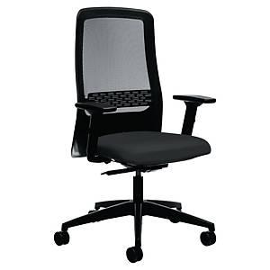 Office chair Prosedia 172II, high mesh backrest, black