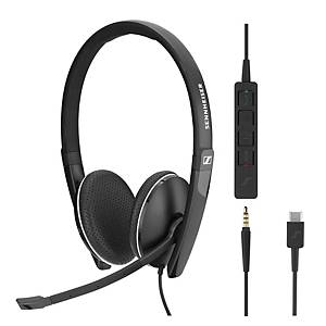 Sennheiser SC165 Binaural Headset USB