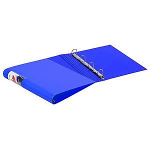 Dossier de 4 argolas Carchivo Colormax - A4 - azul escuro