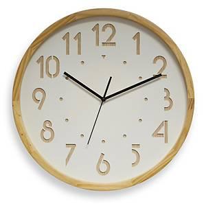 Relógio de madeira Cep 11135 - 41 cm