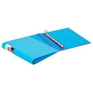 Dossier de 4 argolas Carchivo Colormax - A4 - azul claro