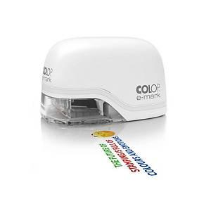 COLOP e-mark® 153111 Elektrostempel, Weiss