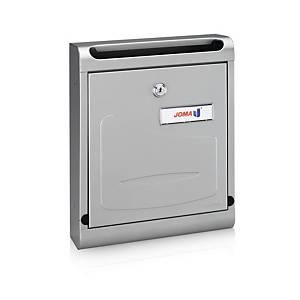 Caixa de correio interior Joma Hall 10 - aço inoxidável