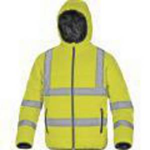 DELTAPLUS DOON Hi-Vis jacket, size 2XL, yellow