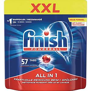 Spülmaschinentabs Finish All in 1 XXL, 57 Tabs