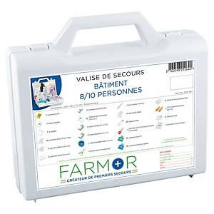FARMOR FIRST AID W/CASE F/CONSTRUCTION