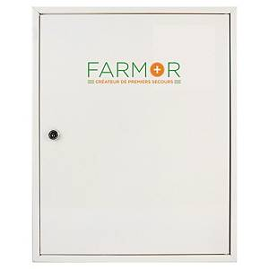 FARMOR 4001MV FIRST AID CABINET WHITE