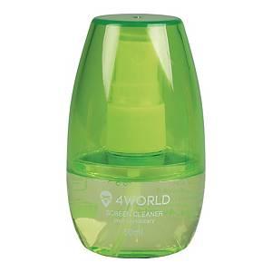 4WORLD SCREEN CLEANER 50ML GREEN