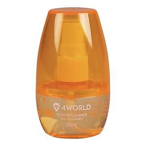 Zestaw czyszczący 4WORLD, 50ml pomarańczowy