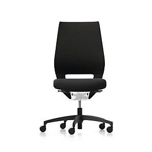 Kontorsstol Dauphin X-Code, roterbar, svart