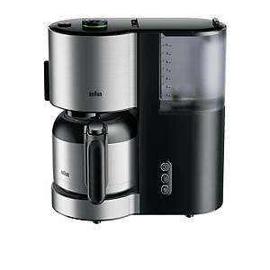 Machine à café Braun ID Collection KF5105 avec thermos, noire