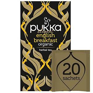PUKKA TEA ENGLISH BREAKFAST 20 BAGS
