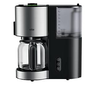 BRAUN COFFEE MACHINE ID COLLECTION BLACK