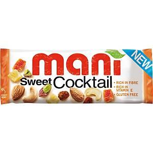 Mani sweet cocktail fruit, 50 g, pak van 16