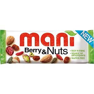 Baies et noix Mani, 50 g, le paquet de 16