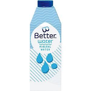 Eau B-Better naturelle, 75 cl, pack de 8 bouteilles