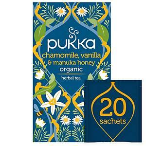 Pukka thee kamille en vanille, 20 zakjes