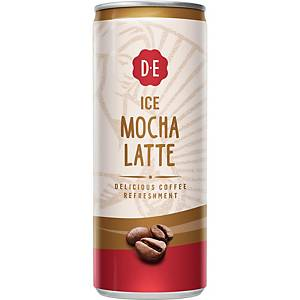 Douwe Egberts Ice Coffee Mocha Latte - 12 cans of 250ml