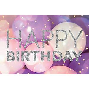 Doppelkarte Naturverlag, Happy Birthday, 17,5 x 12,2 cm, neutral