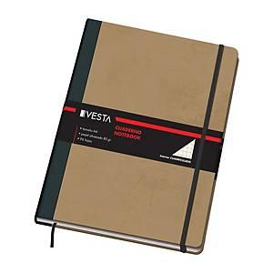 Caderno cartoné Dohe Vesta Venture - A4 - 96 folhas - 5x5