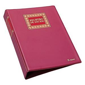 Livro de registo de sócios de cartoné Dohe - 155 x 215 mm