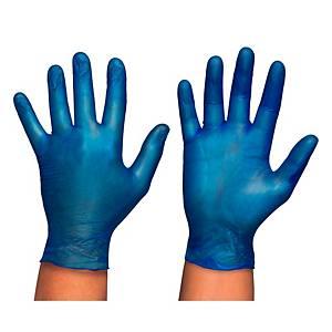 Caja de 100 guantes desechables Rubberex VYL100 - vinilo - talla 8