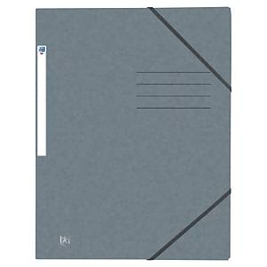 Elastic folder Oxford A4, office colours, assorted, pack of 10