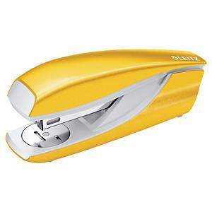 Leitz WOW Metal Stapler Half-Strip Yellow